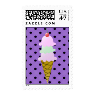 Ice Cream Cone Postage