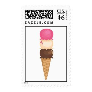 Ice Cream Cone Stamp