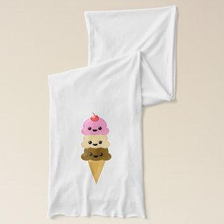 Ice Cream Cone Scarf