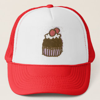 Ice Cream Cone Trucker Hat
