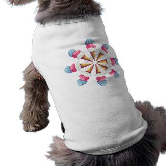 ICE CREAM CONE WHEEL by SHARON SHARPE Dog Tee Shirt