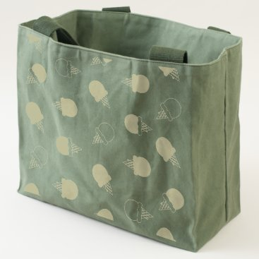 Beach Themed Ice cream cones canvas utility tote
