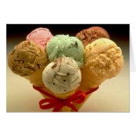 Ice Cream Cones! Greeting Cards