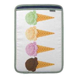 Ice Cream Cones MacBook Sleeve