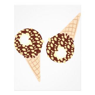 Ice Cream Cones Letterhead