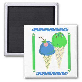 Ice Cream Cones Magnet