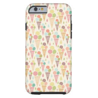 Ice cream cones pattern iPhone 6 case