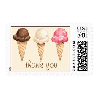 Ice Cream Cones Postage