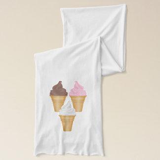 Ice Cream Cones Scarf
