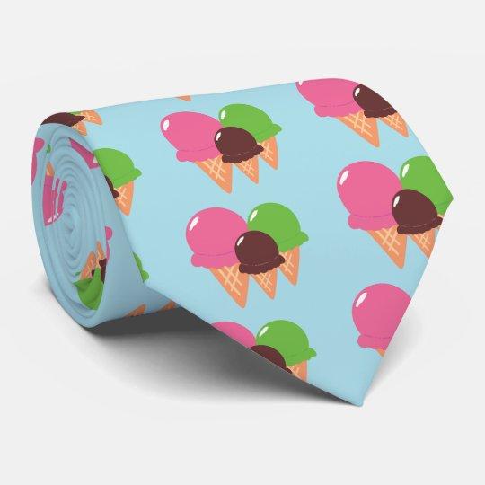 Ice Cream Cones Tie