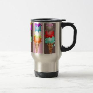 ice cream cones travel mug