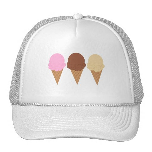 Ice Cream Cones Trucker Hat