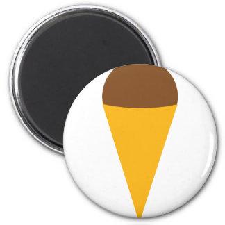 ice-cream cornet icon fridge magnets