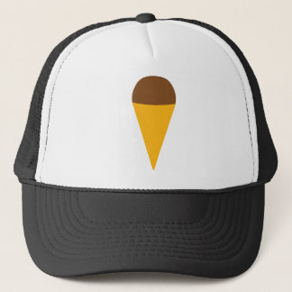 ice-cream cornet icon trucker hat
