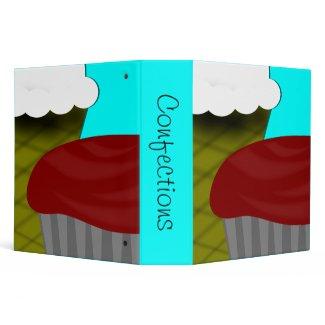 Ice Cream Cupcake Recipe binder