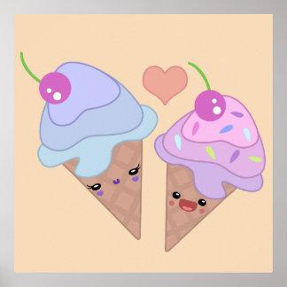Ice Cream Cuties Poster