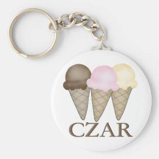 Ice Cream Czar Key Chains