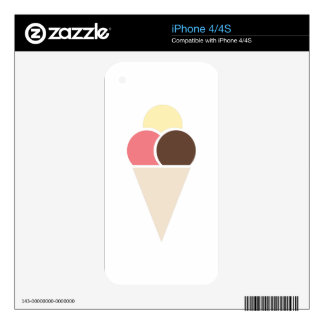 Ice Cream Decals For The iPhone 4S