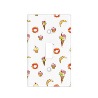 Ice Cream, Donuts & Cupcakes Design Light Switch Cover