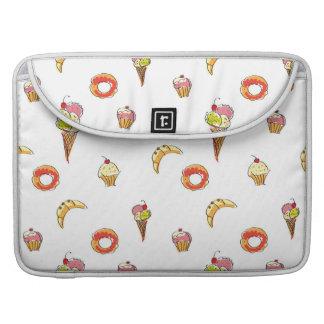 Ice Cream, Donuts & Cupcakes Design MacBook Pro Sleeves