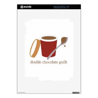 ice cream_double chocolate guilt iPad 2 skins