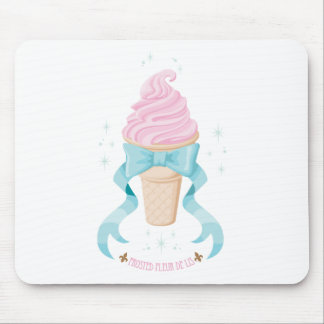 Ice Cream Dream - Strawberry Mouse Pad