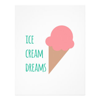 Ice Cream Dreams Letterhead