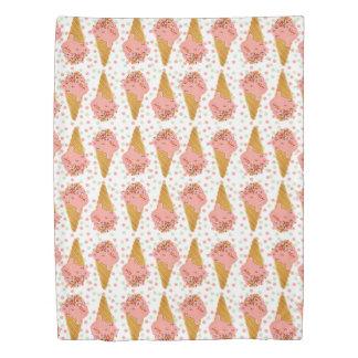 Ice Cream Duvet, Girly Polka Dot, Sprinkles 2 side Duvet Cover