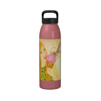 ice cream fairy Water Bottle