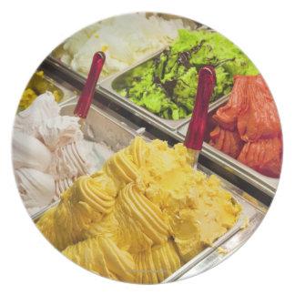 Ice cream flavors, Paris Dinner Plate