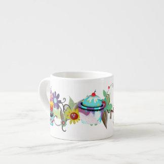 Ice cream flowers Espresso Mug