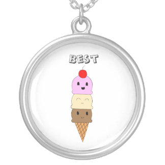 Ice Cream Friendship Necklace (Best)