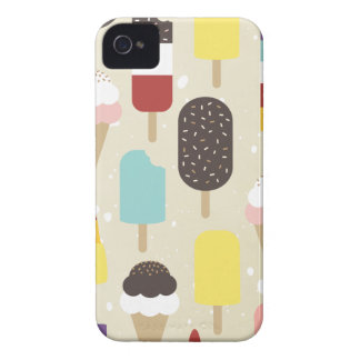 Ice Cream & Frozen Treats iPhone 4 Case