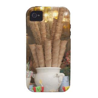 Ice cream gelato cones in shop window display iPhone 4/4S cover