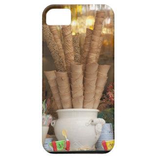 Ice cream gelato cones in shop window display iPhone 5 cover