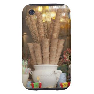 Ice cream gelato cones in shop window display tough iPhone 3 cases