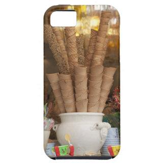 Ice cream gelato cones in shop window display iPhone 5 covers