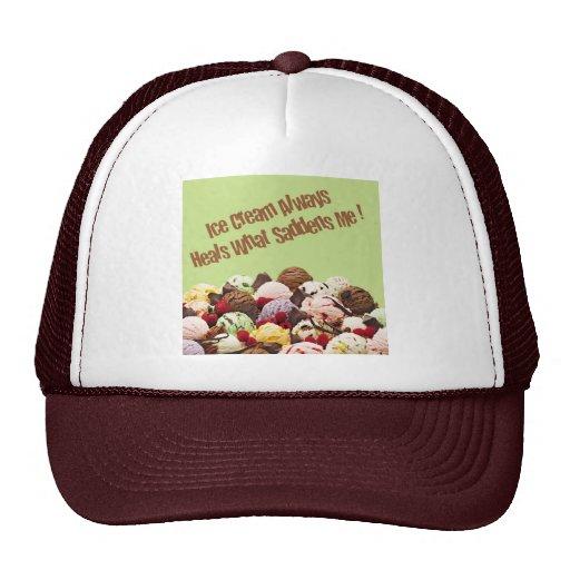 Ice Cream Heals Cap Trucker Hat
