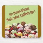 Ice Cream Heals Mousepad