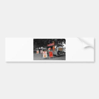 Ice Cream Hot Dogs Car Bumper Sticker