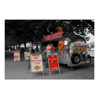Ice Cream Hot Dogs Poster