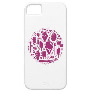 Ice Cream Iconography: Violet iPhone 5 Cases