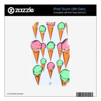 ice cream iPod touch 4G decal