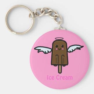 Ice Cream Key Chain! Basic Round Button Keychain