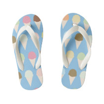 Ice Cream - Kid's Flip Flop