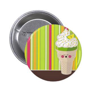 ice cream lemon buttom pins