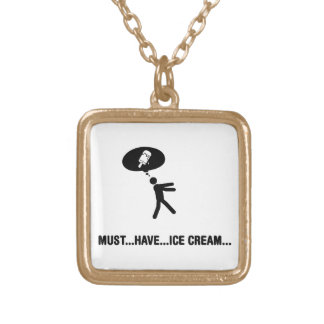 Ice cream lover necklaces
