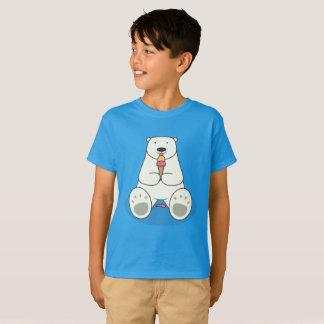 Ice Cream Lover Polar Bear Kids' T-Shirt