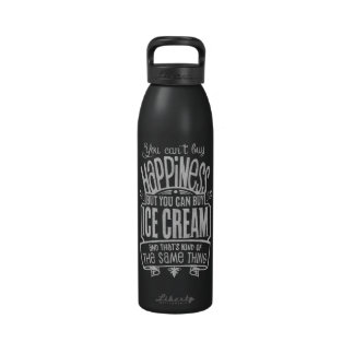 Ice Cream Lover s Beverage Bottle Water Bottles