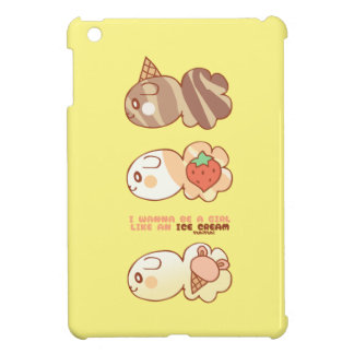 Ice-cream market icecream market by YuhiYuhi iPad Mini Cases